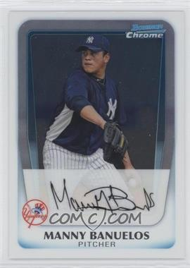 2011 Bowman Chrome Prospects #BCP133 - Manny Banuelos