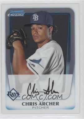 2011 Bowman Chrome Prospects #BCP134 - Chris Archer