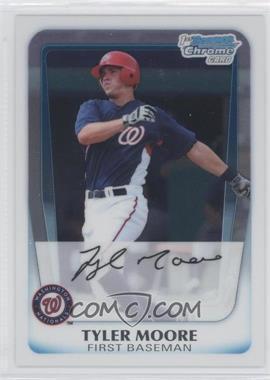 2011 Bowman Chrome Prospects #BCP138 - Tyler Moore