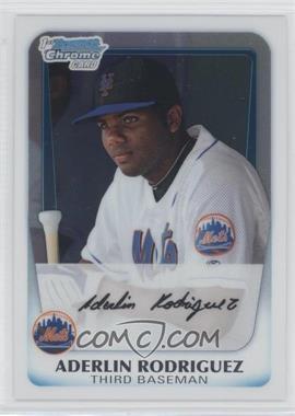 2011 Bowman Chrome Prospects #BCP146 - Aderlin Rodriguez