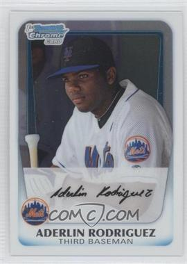 2011 Bowman Chrome Prospects #BCP146 - Aderlin Rodriguez