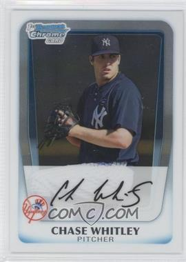 2011 Bowman Chrome Prospects #BCP155 - Chase Whitley