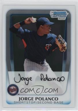 2011 Bowman Chrome Prospects #BCP159 - Jorge Polanco