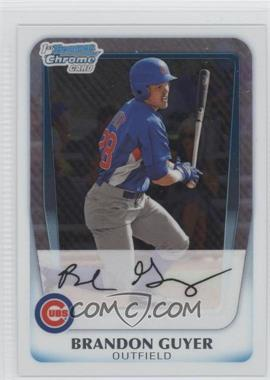 2011 Bowman Chrome Prospects #BCP168 - Brandon Guyer