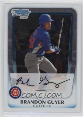 2011 Bowman Chrome Prospects #BCP168 - Brandon Guyer