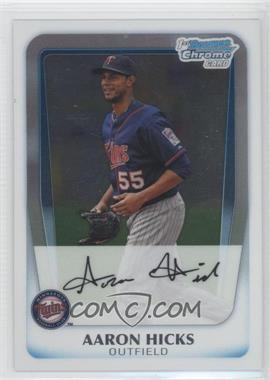 2011 Bowman Chrome Prospects #BCP172 - Aaron Hicks