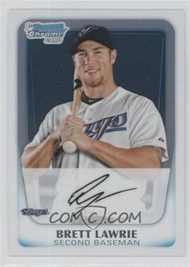 2011 Bowman Chrome Prospects #BCP175 - Brett Lawrie