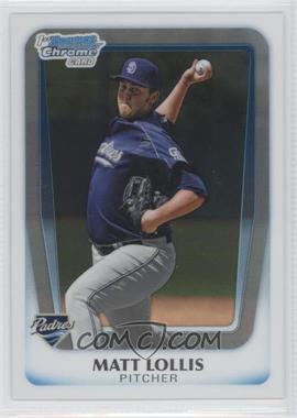 2011 Bowman Chrome Prospects #BCP176 - Matt Lollis