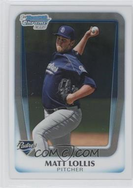 2011 Bowman Chrome Prospects #BCP176 - Matt Lollis
