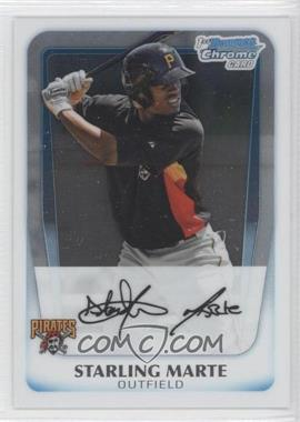 2011 Bowman Chrome Prospects #BCP178 - Starling Marte