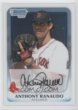 2011 Bowman Chrome Prospects #BCP181 - Anthony Ranaudo