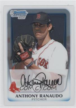 2011 Bowman Chrome Prospects #BCP181 - Anthony Ranaudo