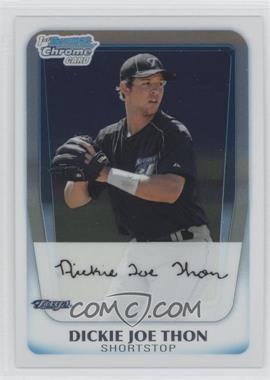 2011 Bowman Chrome Prospects #BCP184 - Dickie Joe Thon