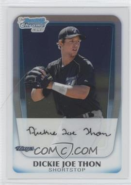 2011 Bowman Chrome Prospects #BCP184 - Dickie Joe Thon