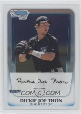2011 Bowman Chrome Prospects #BCP184 - Dillon Thomas