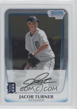 2011 Bowman Chrome Prospects #BCP185 - Jacob Turner