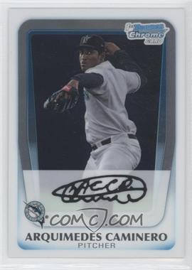 2011 Bowman Chrome Prospects #BCP187 - Arquimedes Caminero