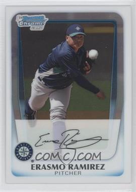 2011 Bowman Chrome Prospects #BCP189 - Erasmo Ramirez