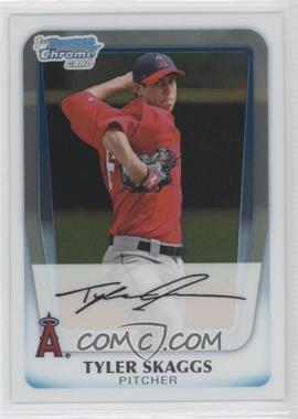 2011 Bowman Chrome Prospects #BCP194 - Tyler Skaggs
