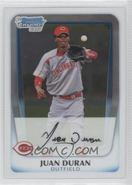 2011 Bowman Chrome Prospects #BCP196 - Juan Duran