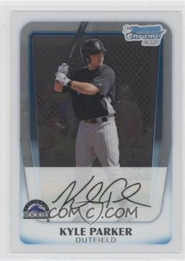 2011 Bowman Chrome Prospects #BCP197 - Kyle Parker