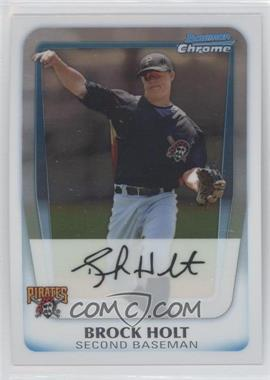 2011 Bowman Chrome Prospects #BCP201 - Brock Holt