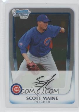 2011 Bowman Chrome Prospects #BCP206 - Scott Maine