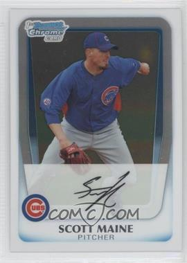 2011 Bowman Chrome Prospects #BCP206 - Scott Maine