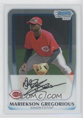 2011 Bowman Chrome Prospects #BCP209 - Mariekson Gregorius
