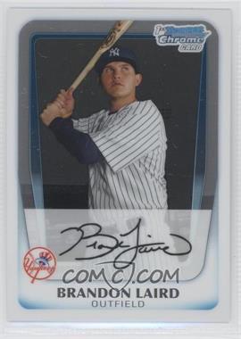 2011 Bowman Chrome Prospects #BCP214 - Brandon Laird