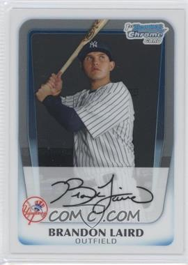 2011 Bowman Chrome Prospects #BCP214 - Brandon Laird