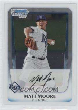 2011 Bowman Chrome Prospects #BCP220 - Matt Moore