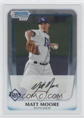 2011 Bowman Chrome Prospects #BCP220 - Matt Moore