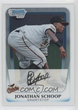 2011 Bowman Chrome Prospects #BCP25 - Jonathan Schoop