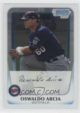2011 Bowman Chrome Prospects #BCP28 - Oswaldo Arcia