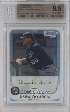 2011 Bowman Chrome Prospects #BCP28 - Oswaldo Arcia [BGS9.5]