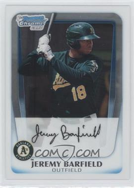 2011 Bowman Chrome Prospects #BCP3 - Jeremy Barfield