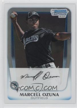 2011 Bowman Chrome Prospects #BCP36 - Marcell Ozuna