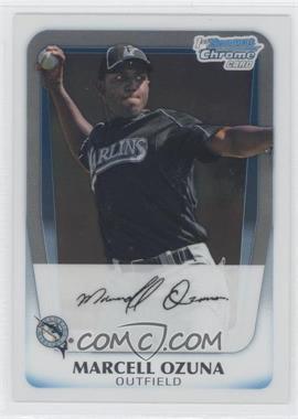 2011 Bowman Chrome Prospects #BCP36 - Marcell Ozuna