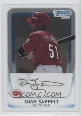 2011 Bowman Chrome Prospects #BCP37 - Dave Sappelt