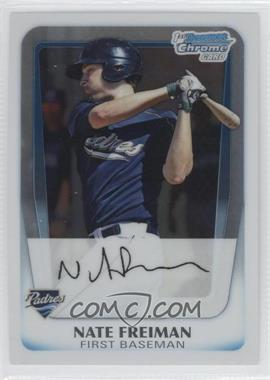 2011 Bowman Chrome Prospects #BCP4 - Nate Freiman
