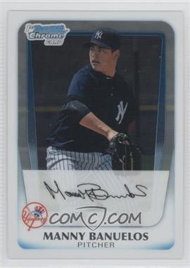 2011 Bowman Chrome Prospects #BCP44 - Manny Banuelos