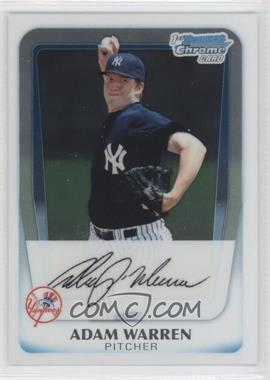 2011 Bowman Chrome Prospects #BCP48 - Adam Warren