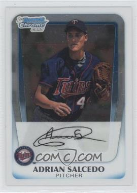 2011 Bowman Chrome Prospects #BCP58 - Adrian Salcedo
