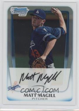 2011 Bowman Chrome Prospects #BCP61 - Matt Magill