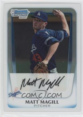 2011 Bowman Chrome Prospects #BCP61 - Matt Magill