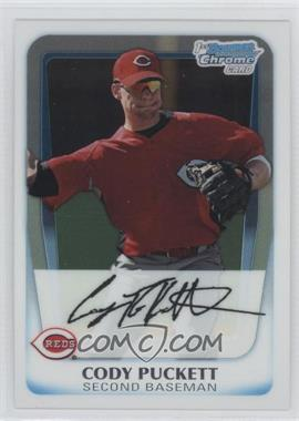 2011 Bowman Chrome Prospects #BCP64 - Cody Puckett
