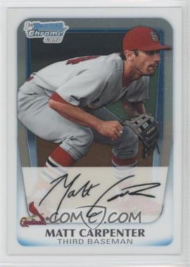 2011 Bowman Chrome Prospects #BCP66 - Matt Carpenter