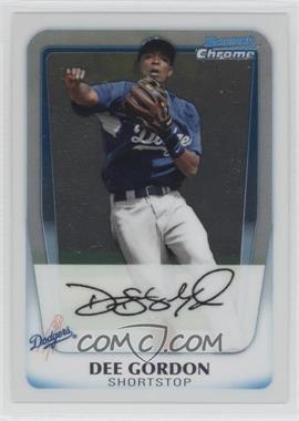 2011 Bowman Chrome Prospects #BCP80 - Dee Gordon