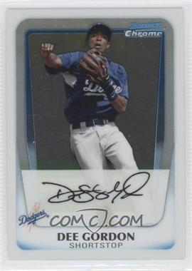 2011 Bowman Chrome Prospects #BCP80 - Dee Gordon